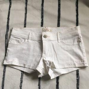 NWT White Hollister Shorts